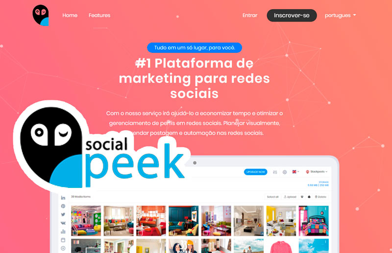 Social Speek – Plataforma de Marketing para Redes Sociais